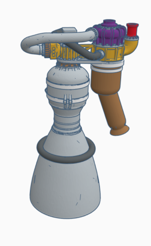 Space X Merlin 1D