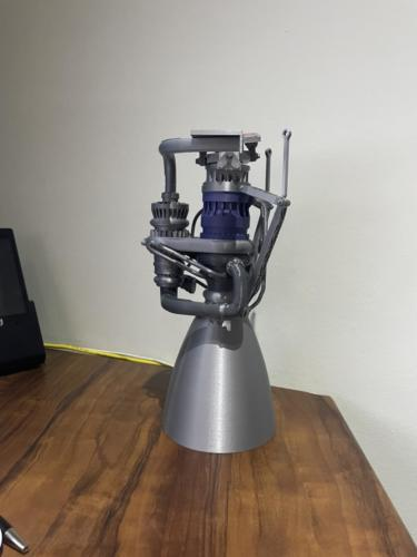 Space X Raptor engine